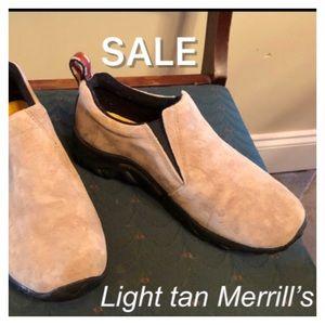 🔴SALE🔴Light Tan Merrell's-see description